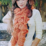 модные вязаные шарфы 2012