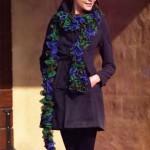 вязаные шарфы 2013