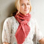вязаные шарфы со схемами