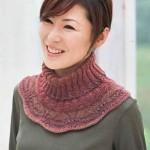 вязаный шарф воротник 2