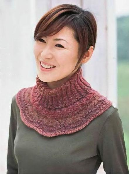 вязаные шарфы 26 моделей описанием