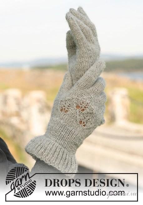 Схемы вязания перчаток спицами