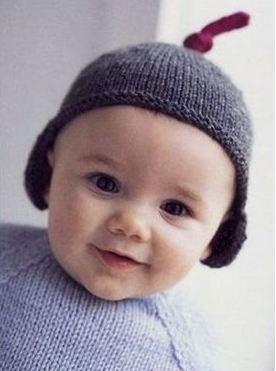 вязание шапок для мальчиков