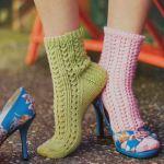 Вязание носков спицами 16-ю способами.