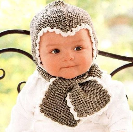 вязать шапки для детей фото