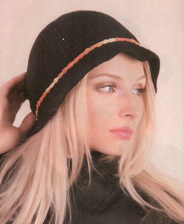 вязаные шапки для женщин спицами