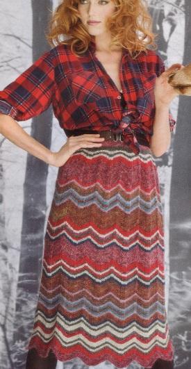Какую связать юбку? 8 красивых моделей на выбор.