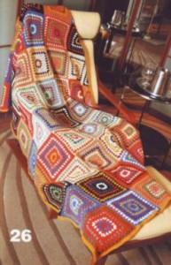 вязаный развивающий коврик своими руками