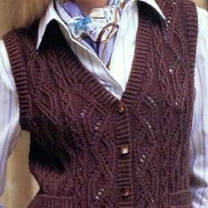 вязание безрукавок и жилетов