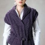 Вязание спицами: безрукавки женские (5 стильных моделей)