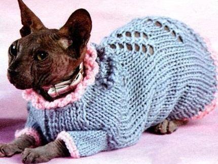 Вязание для кошек с крючком с описанием 5