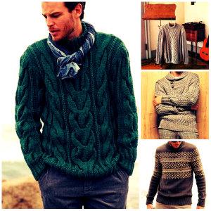 свитера мужские вязаные спицами со схемами