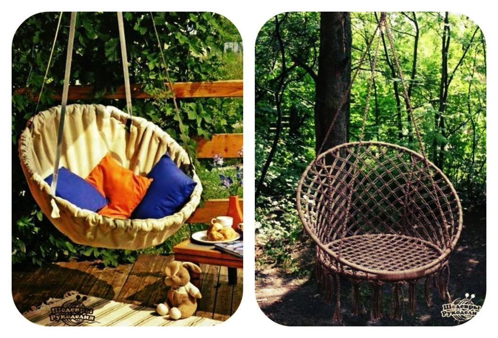 Мастер-класс: Делаем садовые качели для отдыха