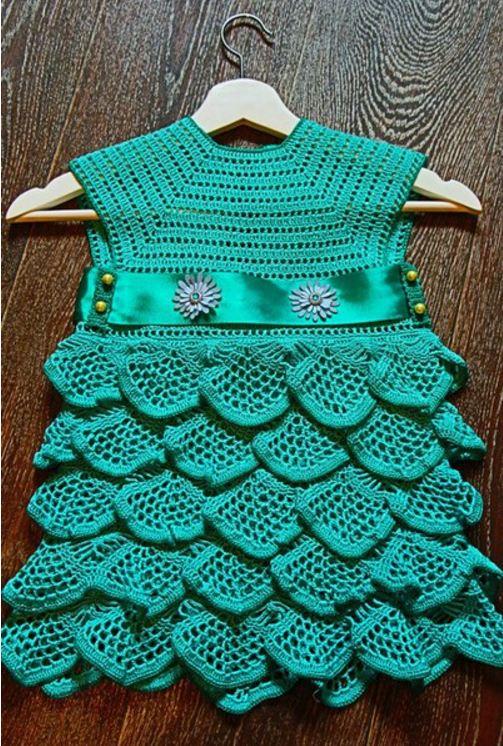 Бирюзовое платье для принцессы