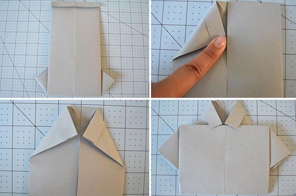 Оригами открытки на 23 февраля своими руками