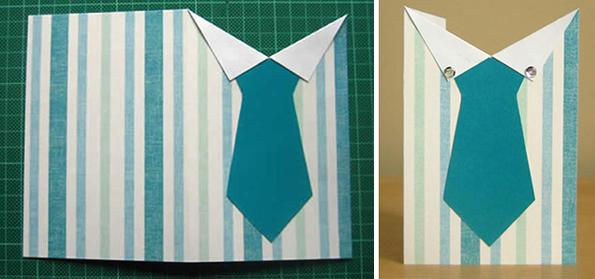 Любимый жду, открытка рубашка с галстуком видео