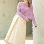 Пуловер «Розовая зефирка»