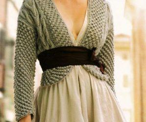Как связать болеро — 26 вариантов вязания болеро