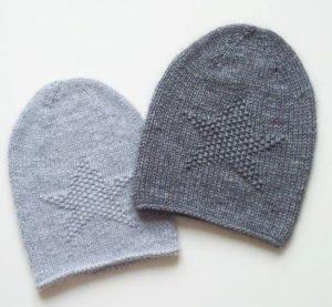 как связать шапку бини