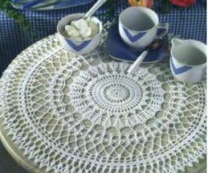 Схемы вязания салфеток крючком для начинающих