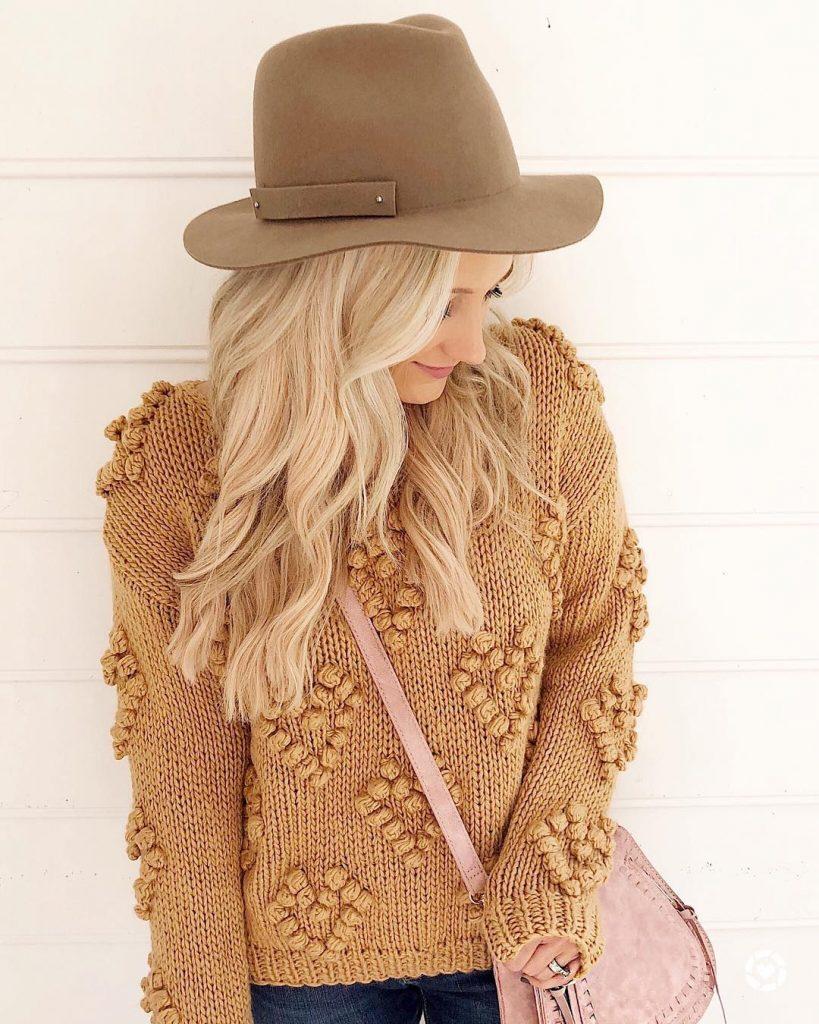 схема свитера спицами оверсайз