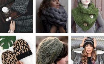 шапки спицами женские схемы