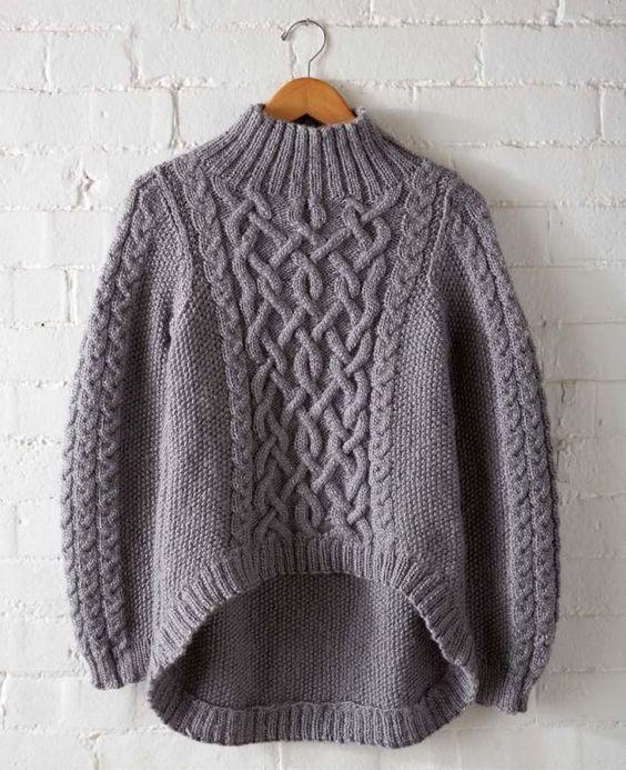 свитер с кельтскими узорами