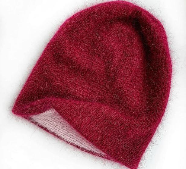 вязание шапок спицами за 50