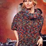 Вязание спицами: пуловер женский