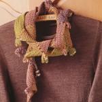схемы вязаные шарфы 2012