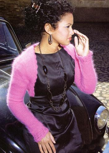 Вязаное болеро спицами для женщин — схемы и описания