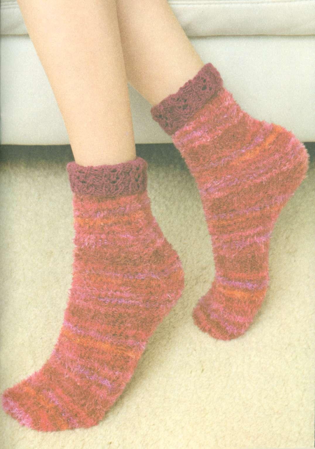 Вязание носок для начинающих