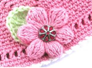 вязаные цветы крючком каланхоэ 1