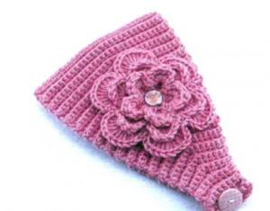 вязание повязки для малышки