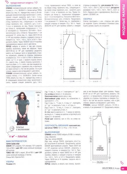 вязаные дизайнерские платья 1