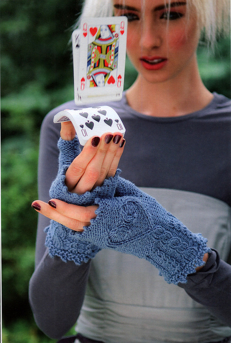 Схема вязания перчаток без