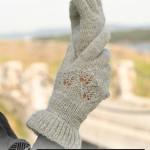 3 модели: схемы вязания перчаток спицами + норвежская техника вязания варежек