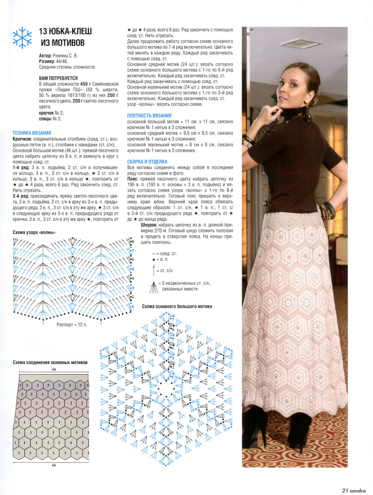 Вязание крючком юбка схема вязания бесплатно