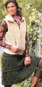юбки вязание крючком