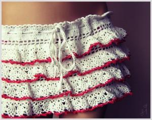 юбки вязанные крючком схемы