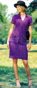 красивые вязаные юбки