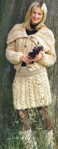 вязание юбки схемы
