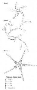 вязание юбки спицами схемы 3