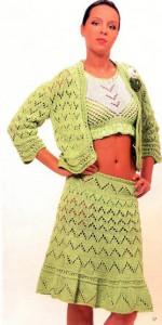 вязание крючком юбки схемы и модели