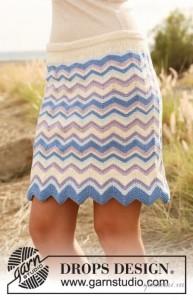вязание спицами юбки схемы