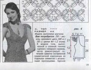 вязанные спицами юбки женские 1