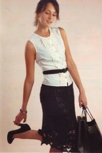 вязаные юбки крючком фото