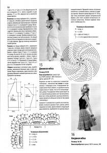 вязаные юбки крючком описание 1