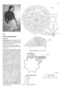 вязаные юбки крючком с описанием 2