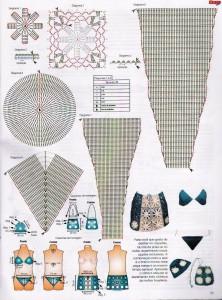 вязаные юбки с подиума 1